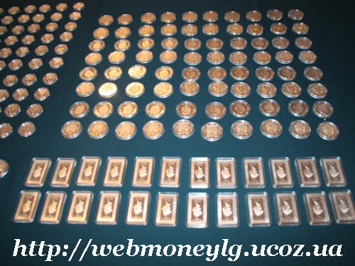 серебренные монеты Украины